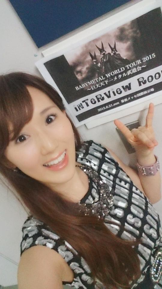 Interviewed #babymetal for #NHKWorld 's Newsroom Tokyo (broadcast internationally)!! On air next Friday night :) http://t.co/nqA19dZ03b