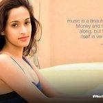 RT @radioandmusic: #Bollywood 's beautiful @ShwetaPandit7 expressed her love for #Music   #WorldWithoutMusic #WorldMusicDay #India http://t…