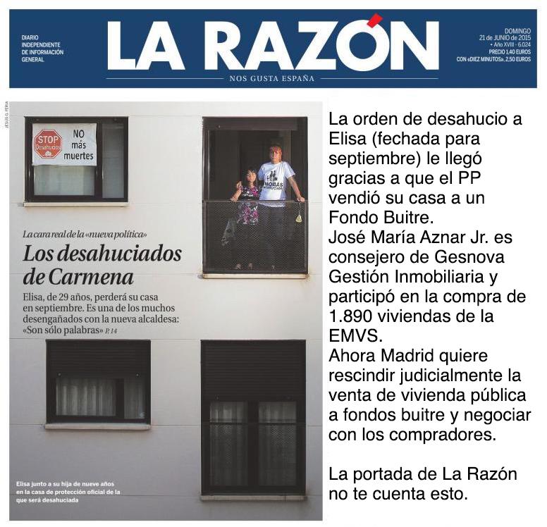 .@larazon_es olvida en su portada cierta información. No pasa nada, se lo recordamos por si se les ha pasado: http://t.co/CLoUppXpvu