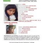 @aamber_ver Para localizar a CAROLINA HERRERA ORTIZ 15 años y a JOSE ANTONIO HERRERA ORTIZ de 3 meses http://t.co/hNcSep9sgA @FGE_Veracruz