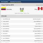 LIVE Today's 1st @CA2015 match is underway as #COL take on #PER in Temuco, Chile. Follow here: http://t.co/MDfMFBXepy