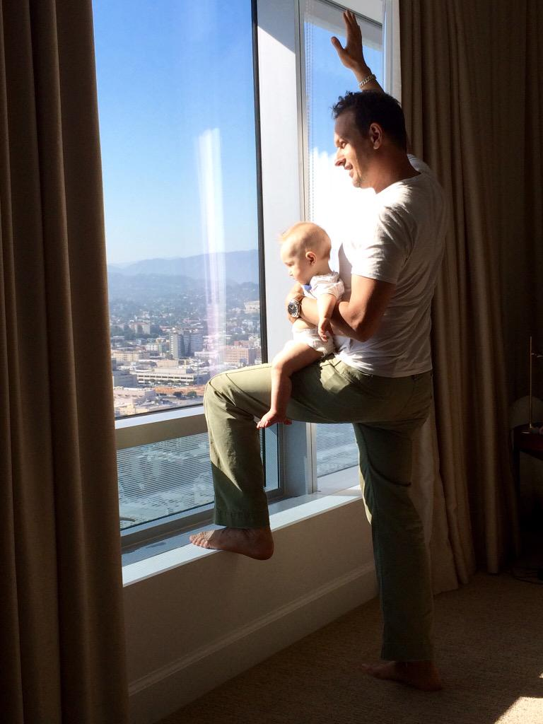 Happy Father's Day @MrJoshCharles! You were made for this. http://t.co/nwtwwsZIVo