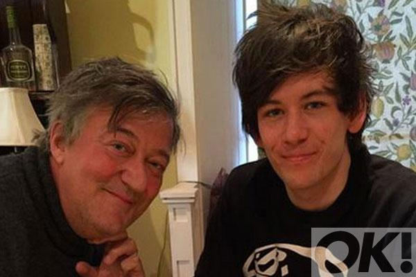 QI's @stephenfry opens up about 'blissful' marriage with Elliott Spencer: