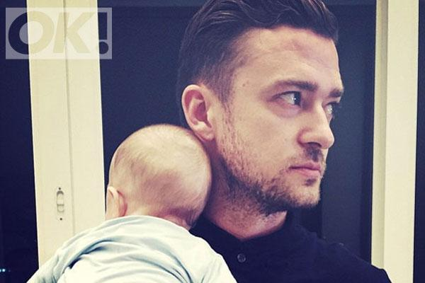 Celeb dads @VancityReynolds and @jtimberlake enjoy their first FathersDay with adorable pics: