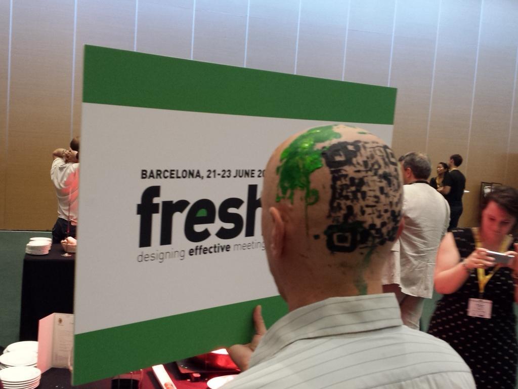 Yes that is the ultimate art #freshcon15 #evenrprofs @maartenvanneste http://t.co/orjYSNT9Vb