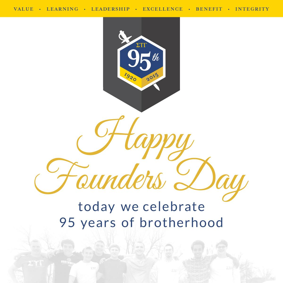 CELEBRATE. HONOR. GIVE. A Brotherhood 95 years in the making. Cheers!! http://t.co/Ll06aRjoTj
