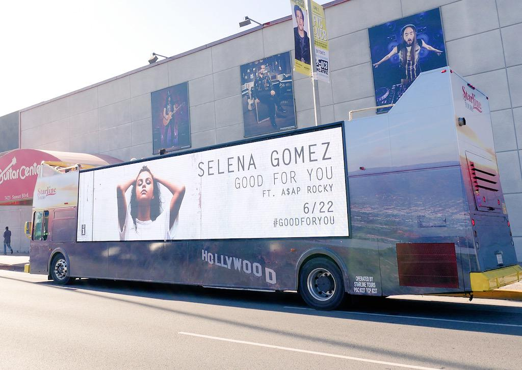 #GoodForYou // Los Angeles, CA. @selenagomez http://t.co/am8cVbdZBl