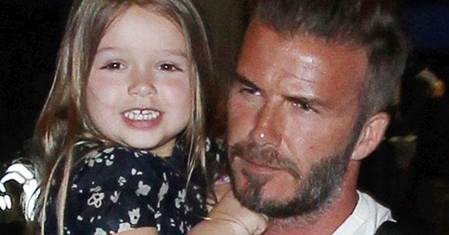 N'awww. You NEED to see what Harper gave her dad for Father's Day...