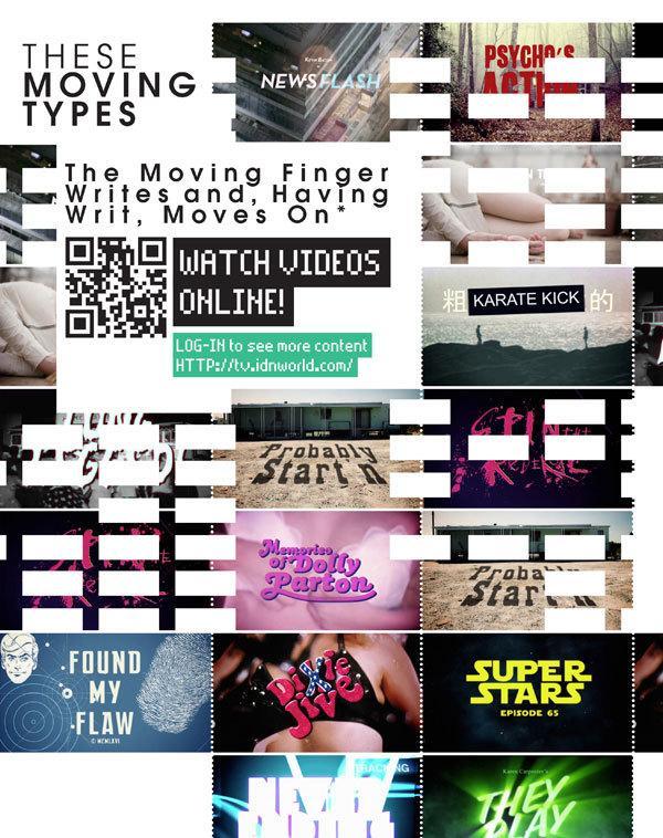 IdN TV v22n2: Animated Type – Typography in Motion http://t.co/KOCHIyRSN8 http://t.co/Lr5UUb6Aez