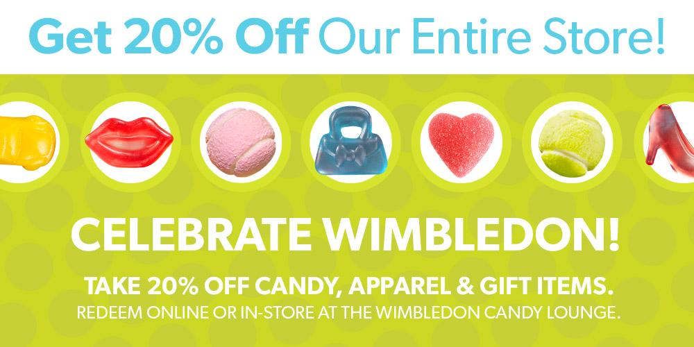 RT @Sugarpova: We're celebrating #Wimbledon by giving 20% off of our entire store - save with code WIMB20! http://t.co/sV5GFaOpBz http://t.…