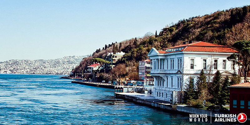Take a trip into Istanbul and discover the Bosphorus with @SkylifeMagazine!