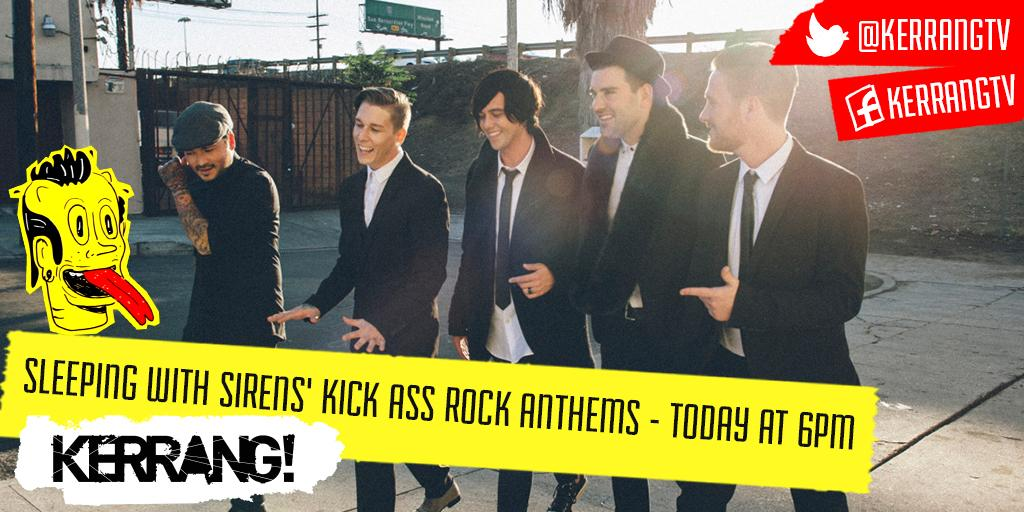 Today at 6pm - we've got @SWStheband counting down their top 20 Kick Ass Rock Anthems!! http://t.co/fS0DNbFTDD