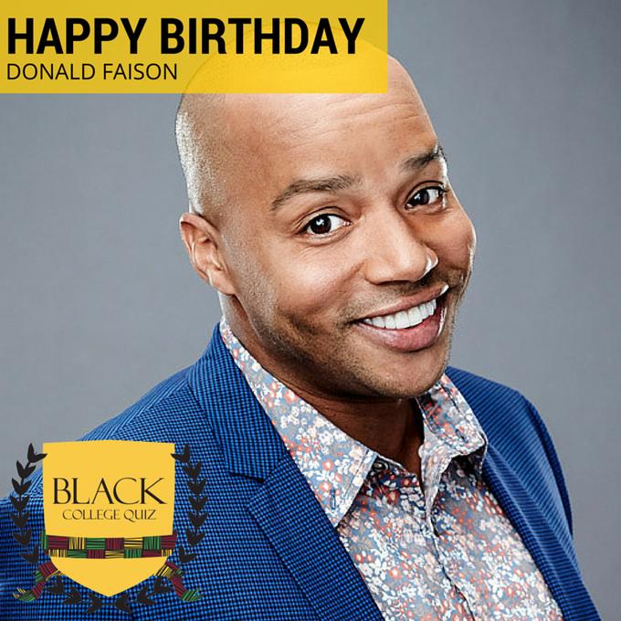 Donald Faison's Birthday Celebration | HappyBday.to