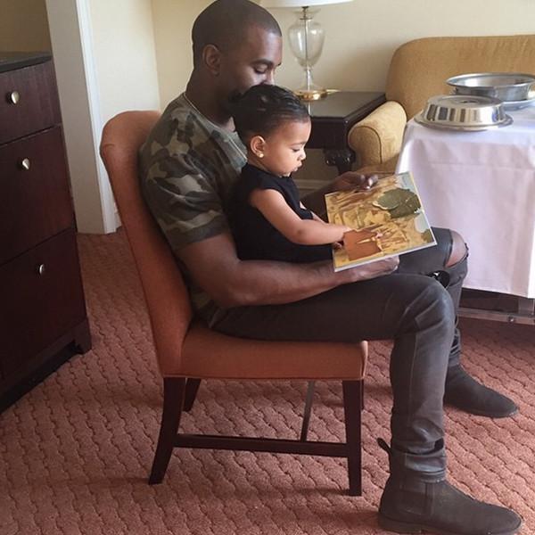 Well if that isn't the cutest FathersDay snap, @KimKardashian:
