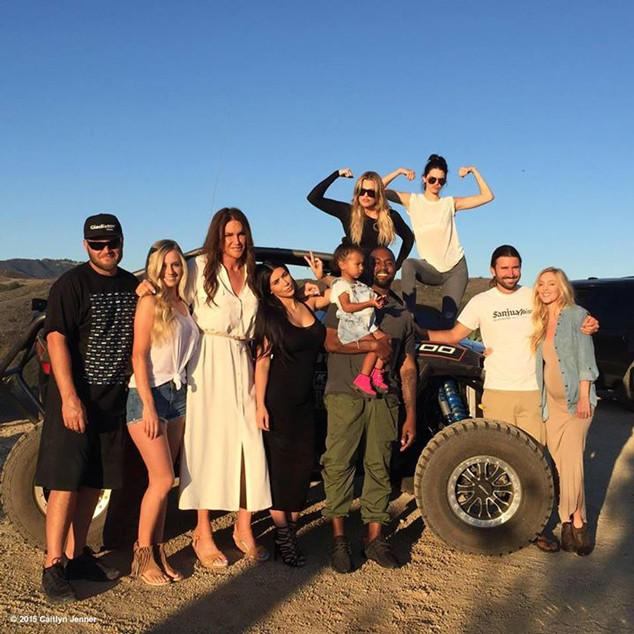The Kardashian-Jenner clan went all out for FathersDay this year: