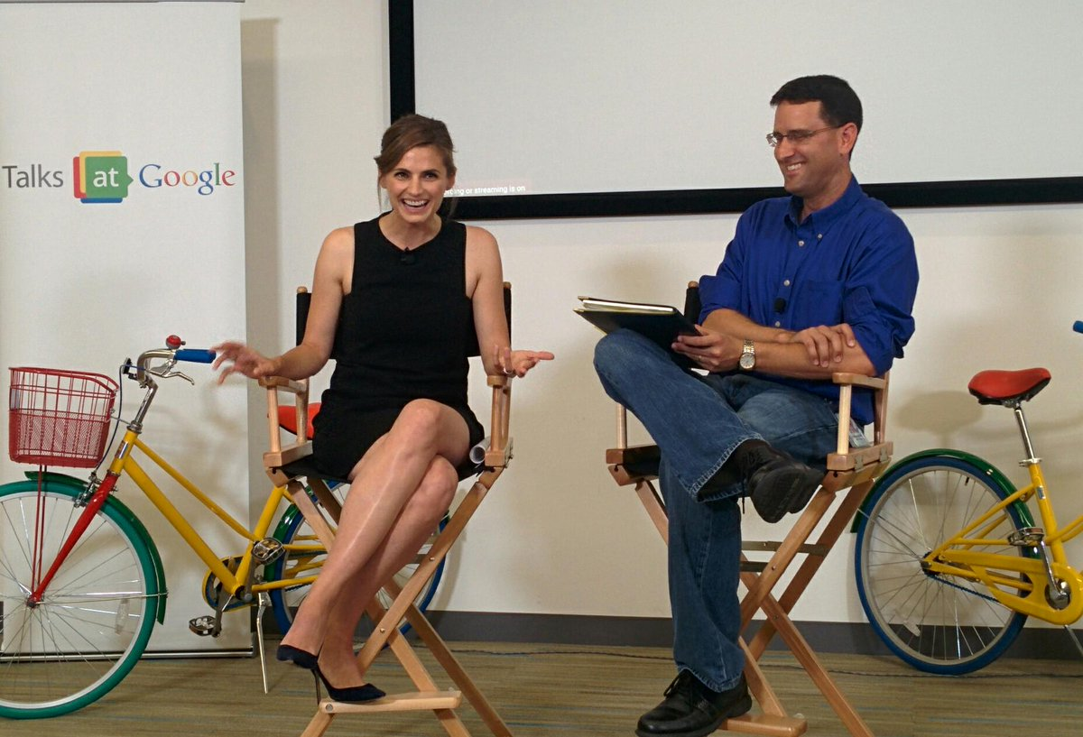 Can you #GOcarFREE for a day? @Stana_Katic is at Google today talking to us about the awesome @ALTravelProject http://t.co/BV6WbW6ZF2