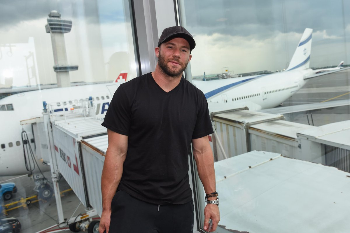 EL AL Airlines welcomes @Patriots wide receiver & @NFL Super Bowl champ, @Edelman11, on his first trip to Israel! http://t.co/iYhgDvCm9C