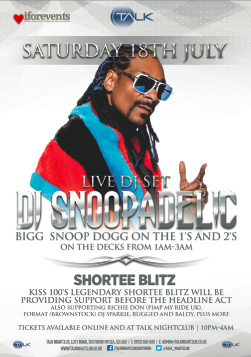 UK ! Catch me #DJSNOOPADELIC @Talk_Nightclub #lovebox #afterparty July 18 S/o @iforphin ! tix: http://t.co/c0weBiBvzG http://t.co/uFTCDhKlFm