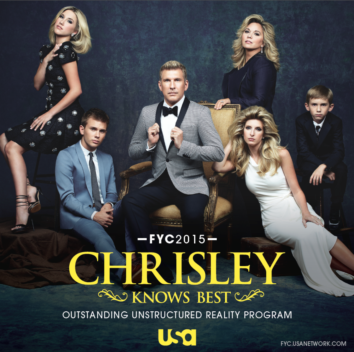 The Chrisleys are quite a family. Vote for @Chrisley_USA for #Emmy consideration. Watch here: http://t.co/2HeAKA6UKx http://t.co/xKEwEc3i06