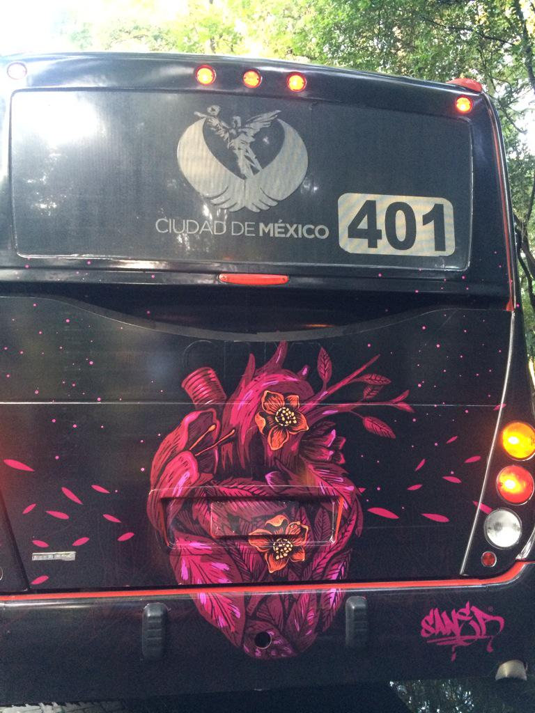 Nota del día sobre el metrobús que tuve la oportunidad de intervenir, este corre por la línea 3 http://t.co/hevNGqsntm