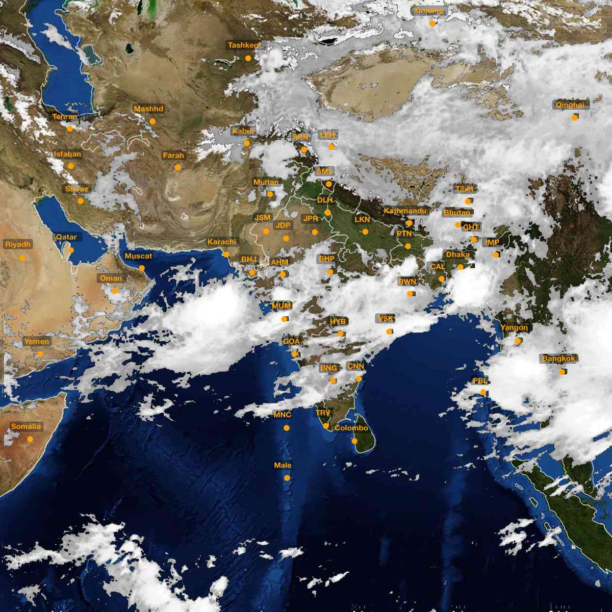 Latest monsoon satellite images and maps of india weather latest monsoon satellite images and maps of india http gumiabroncs Image collections
