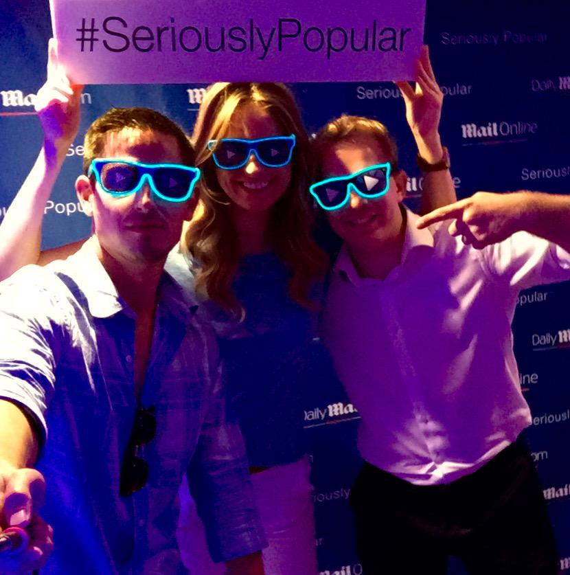 @Virool is #SeriouslyPopular at @Cannes_Lions :) Dream Team @le_sonja, @jtolks, @Bldanzis, @Sahil,@andychandleruk. http://t.co/Ro4AIJot7T