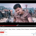 RT @onlynikil: In less than 2 Days, Ilayathalapathy's Puli Teaser Crossed 2 Million Views in Youtube!!!  Masss!!!
