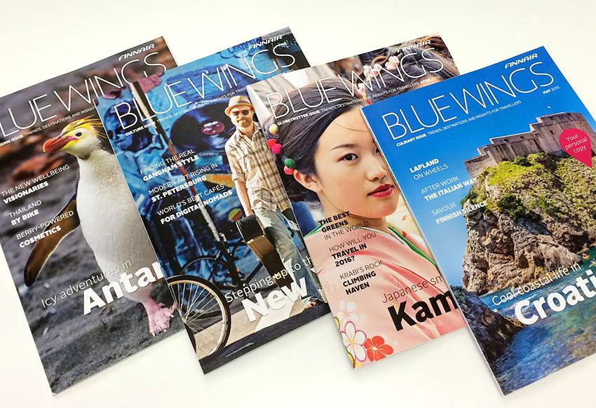 The summer issue of our in-flight magazine Blue Wings is out! Get your travel inspiration at