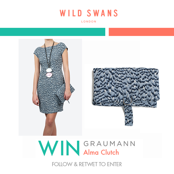 WIN a #Graumann Alma Clutch from @Wild_Swans #RT & #FOLLOW ENTER #COMPETITION #GIVEAWAY http://t.co/UHzyBmYf7L http://t.co/R6HWo1Tdtd