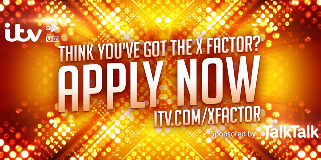 Guys there's still time to apply for @TheXFactor! I want to hear you sing ???? https://t.co/8R5YwN8NOv #XFactor http://t.co/ah6GdeSgPj