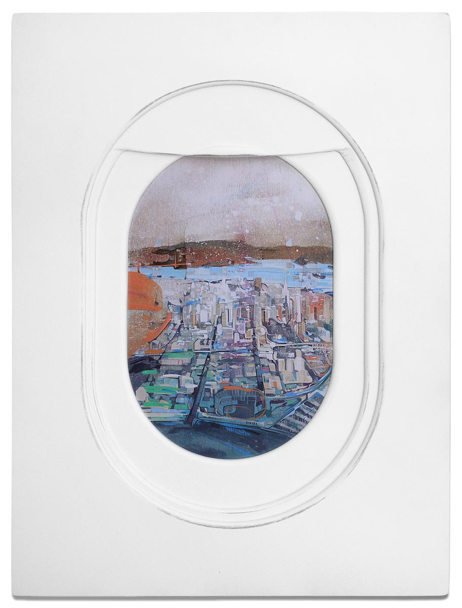 Jim Darling's Airplane Window Seat Paintings: http://t.co/wO5zjuNZ6R #NFTO http://t.co/OTJi6g0f47