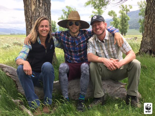Met with @World_Wildlife's @RattlesnakeDen to learn about conservation in America's wilderness #GreatWideOpen http://t.co/zS3UGD91u2