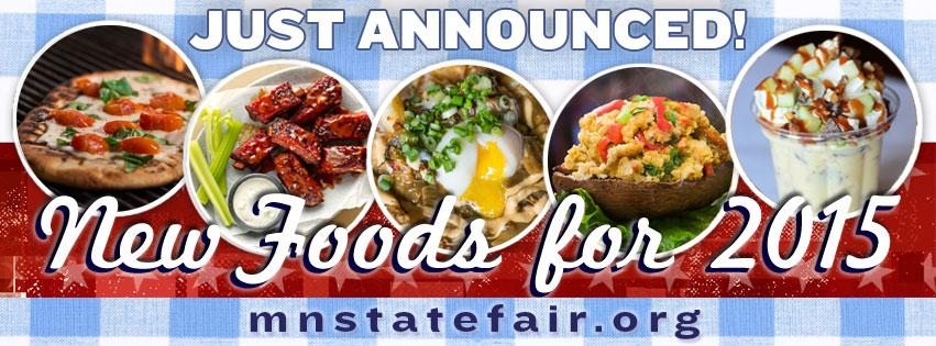 40 NEW FOODS + 11 FROZEN TREATS make State Fair debut in 2015! Hot details @ http://t.co/TLV4uK2LlF. #MSFFoodLove http://t.co/N5WNiT5FZV