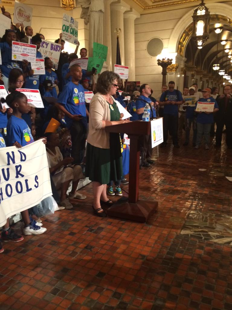 """It's time to """"provide for EVERY child..."""" #fairFundingPA http://t.co/nStz60z45L http://t.co/mDTq9AXUE2"""