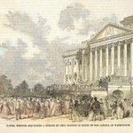 On #July4th 1851 the cornerstone dedication for the @uscapitols expansion took place http://t.co/hAJ7B5ru76 http://t.co/woEzmIngFc