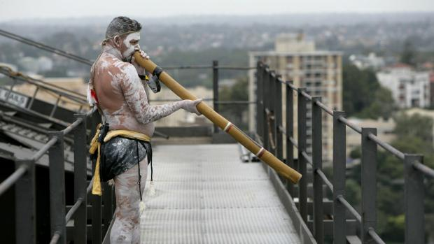 BC town's new tsunami warning sound: the didgeridoo. Beats out crying baby, duck. Listen @