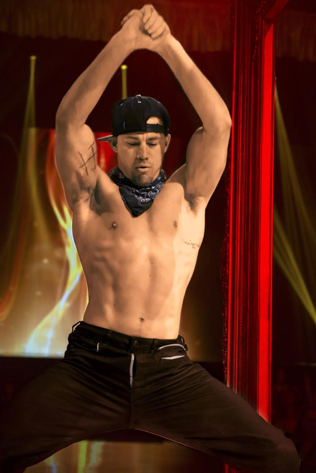 Very happy to hear Channing Tatum's penis isn't shriveled and burnt anymore: