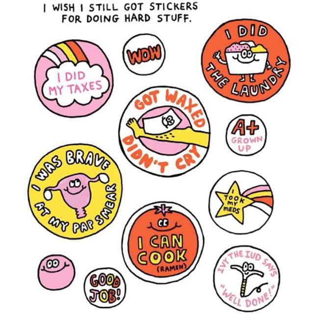 If we did still get stickers, I'd be doing quite well today already, and it's not even 9am! How are you going? ~MV http://t.co/rMwKwFzHGm