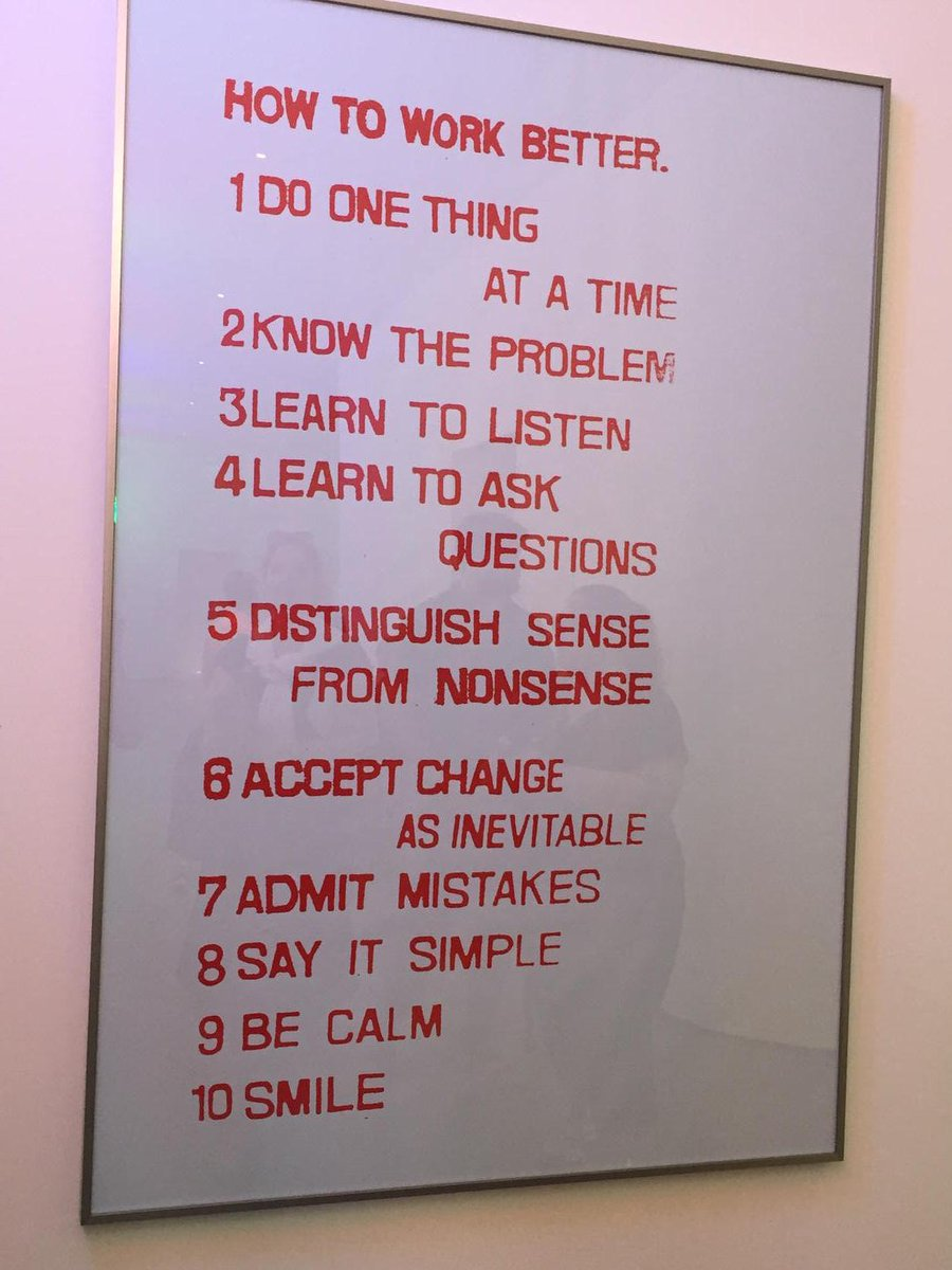 Rules to work by... http://t.co/HBKZ1IQdrC