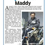 RT @KollywudCinema: Raju wishes @ActorMadhavan #TanuWedsManuReturns Crosses 200 Cr Collection http://t.co/joha0gBCJm