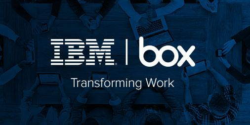 We're teaming up with @IBM to transform work in the cloud: https://t.co/HqqP5g8Tyz http://t.co/tL8RUFakUw
