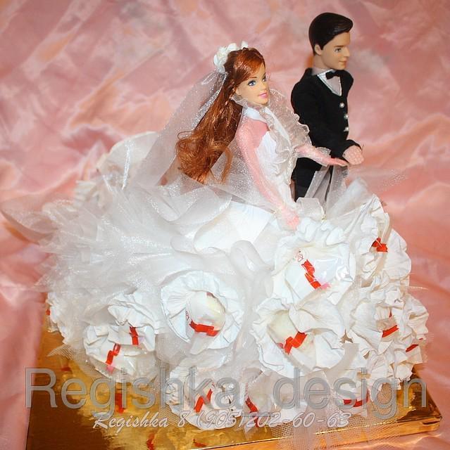 Конфеты жениха своими руками