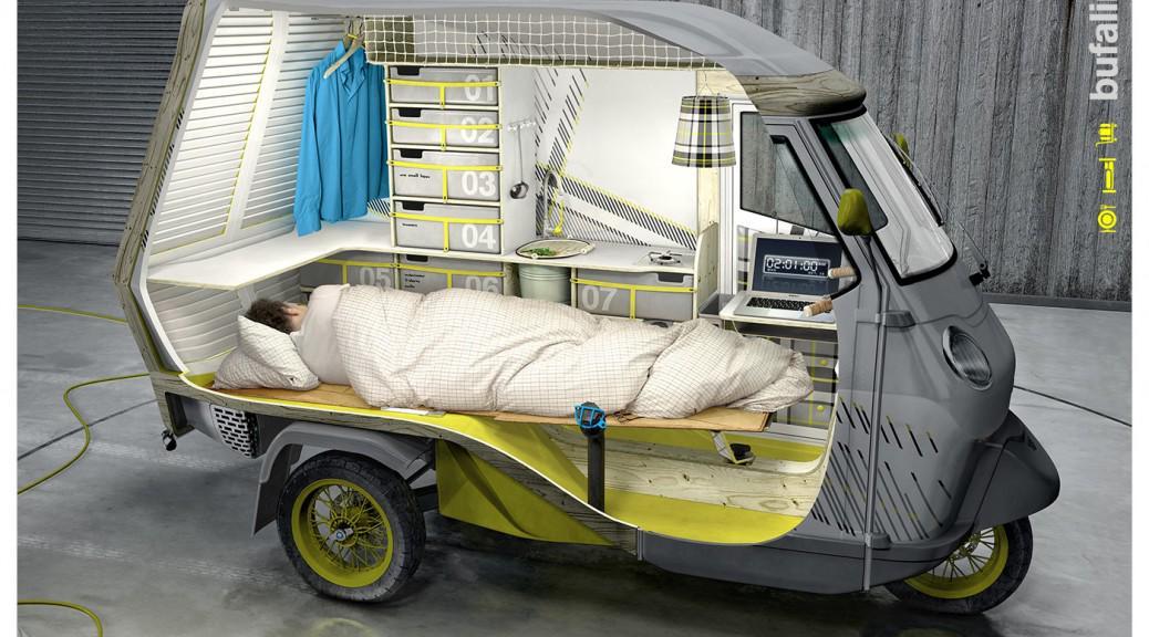 【究極のモバイルハウス】「一人用キャンピングカー」が、未来すぎる http://t.co/IKd2aA7pQT @tabilabo_newsさんから http://t.co/qedLonzmN7