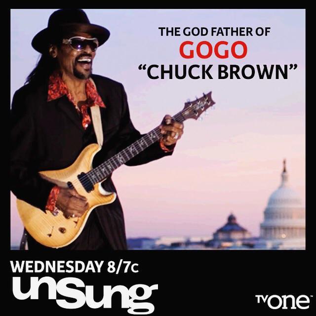 TONIGHT ON @tvonetv  Chuck Brown Unsung - The Godfather of Go-Go 8/7c http://t.co/oTUgzi9oxS