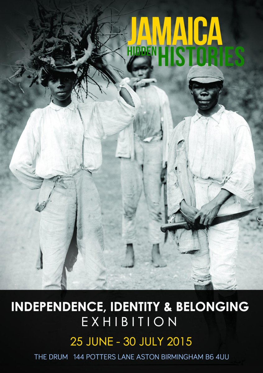 Tomorrow is the big exhibition launch for Jamaican Hidden Histories. Free admission from 6pm @The_Drum http://t.co/DVeXy0AJzJ