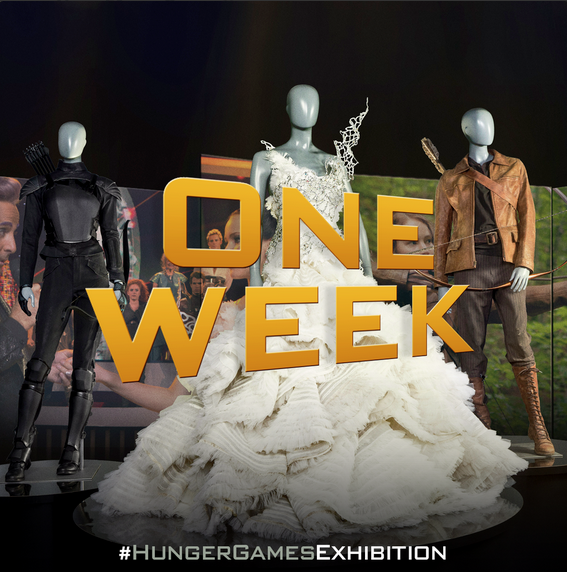 In ONE WEEK, The #HungerGamesExhibition opens @DiscoveryTS! http://t.co/oHKBZMNiaf http://t.co/NkL26mGH0v