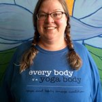 Cathie in #Minneapolis wants you to know that #EveryBodyIsAYogaBody @YBICoalition http://t.co/bTSwuvHSrM
