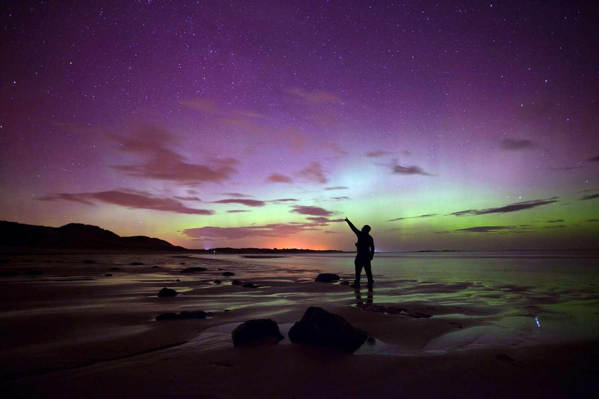 There 39 s a chance of seeing the northern lights in for Chance of seeing northern lights tonight