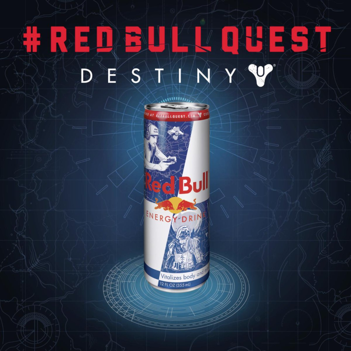 pick up destiny red bull cans to access an epic quest in destiny