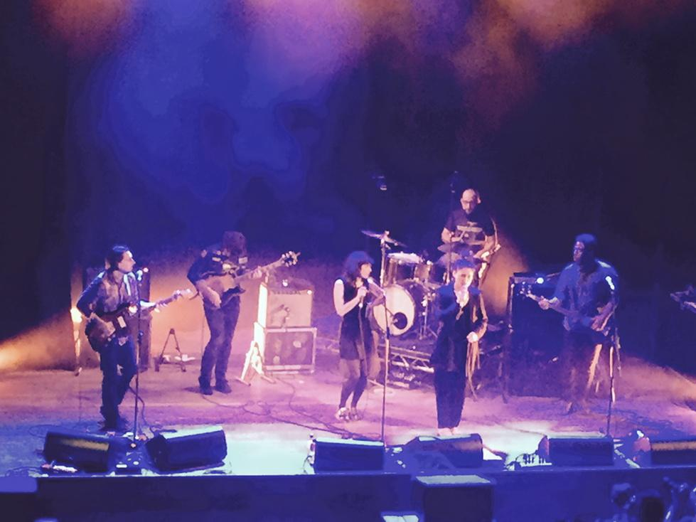 - @NataliePrass joined by @JessieWare & Ryan Adams live on stage in London at Islington Assembly Hall. Incredible http://t.co/j7AWCdnw27